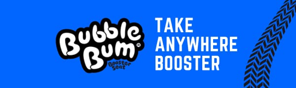 BubbleBum Logo, the take-anywhere booster