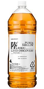 キリンウイスキー 陸 [ ウイスキー 日本 4000ml ]