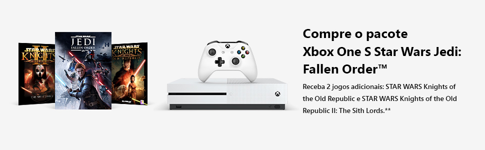 Xbox One S, Star Wars, Console, Xbox, Video Game, Xbox One, Microsoft, Star Wars The Fallen Order,X1