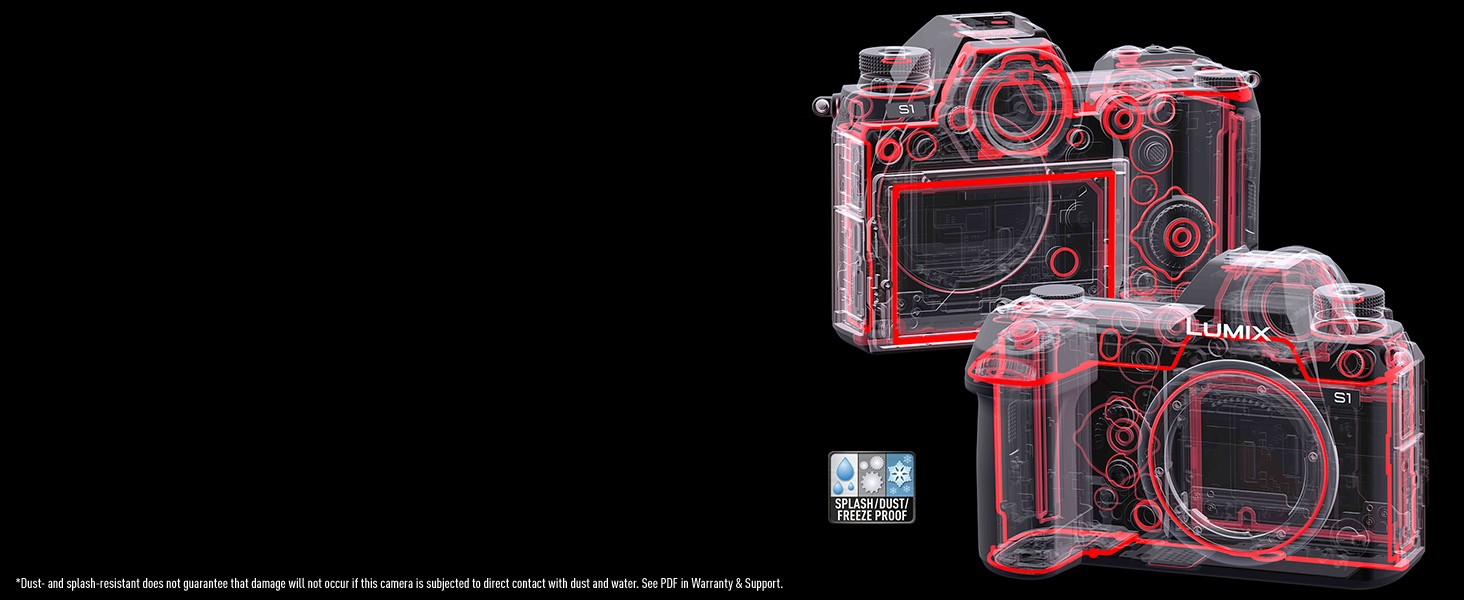 Panasonic Lumix S1 S1BODY S1MK magnesium alloy tough body dust-resistant splash-resistant