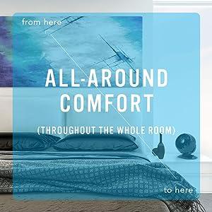 Comfort should be constant.