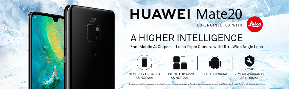 huawei mate 20 android smart phone