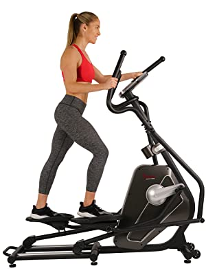 Sunny Health & Fitness SF-E3862 Magnetic Elliptical Trainer Elliptical Machine w/LCD Monitor and Heart Rate Monitoring