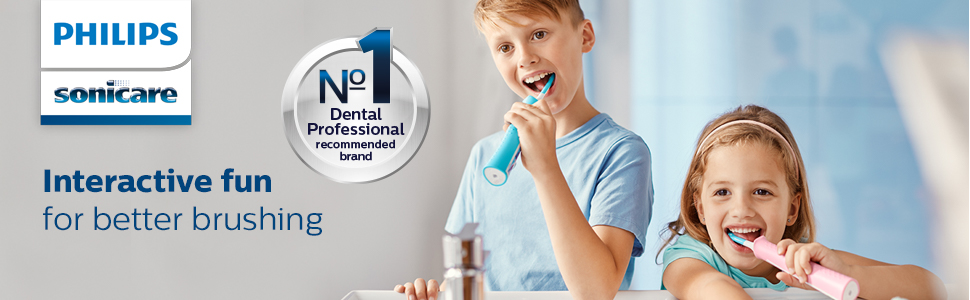 Sonicare for kids interactive toothbrush