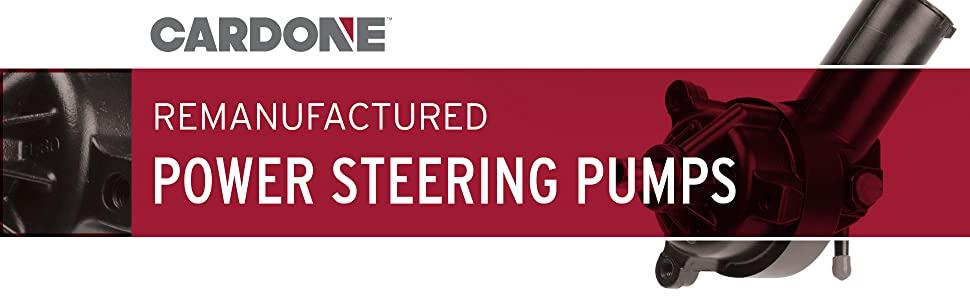 Remanufactured Power Steering Pumps