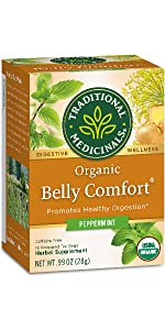 Traditional Medicinals Organic Belly Comfort Peppermint Digestive Tea