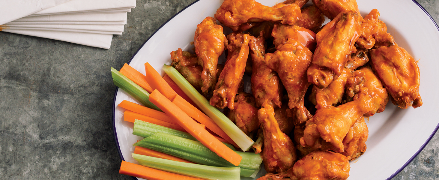 frozen to crispy, pressure cooker meat, pressure cooker wings, air fryer wings, air crisp wings