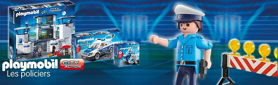 Playmobil Prison Avec Police 6919 De Commissariat 7f6ybgY