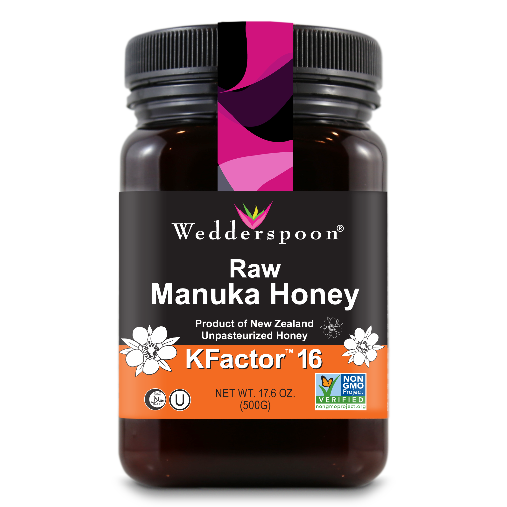Raw organic manuka honey from new zealand