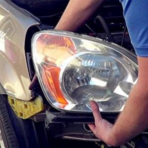 DNA Motoring HL-OH-063-BK-AM Black Housing Headlights+Corner Lights For 98-99 Mazda 626