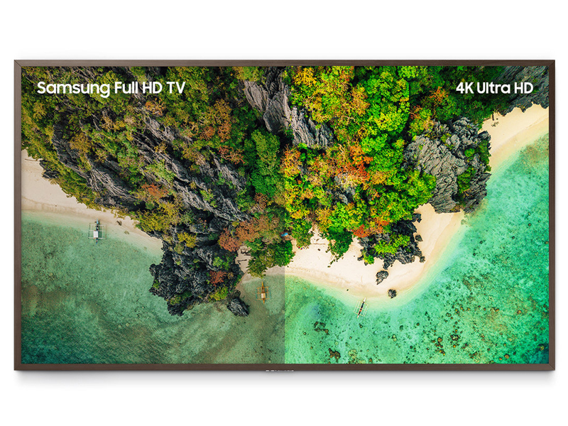 See the world in 4K UHD
