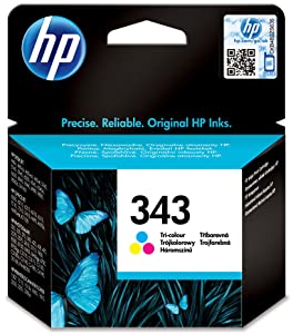HP 343 Tri-color Original Ink Cartridge C8766EE