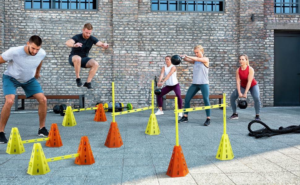 agility hurdles