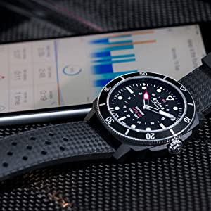 Alpina Seastrong Heritage Swiss Watch, Dive Watch