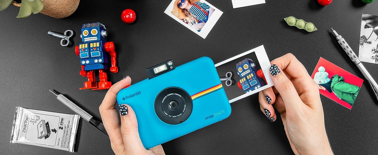 Polaroid snap touch detailed photos print photos