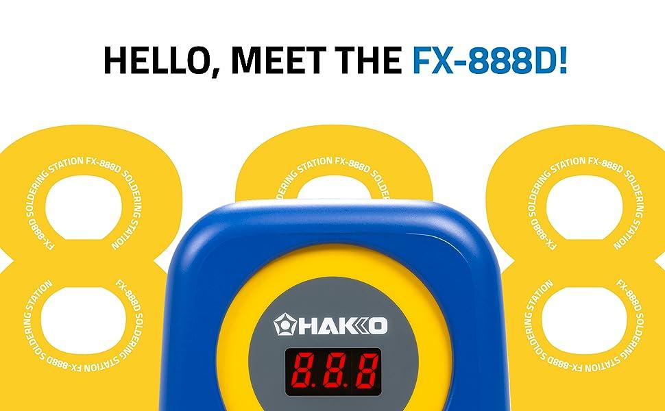 Hakko FX-888D, Hakko, Soldering, Soldering Station, Soldering Iron, Best Soldering Station