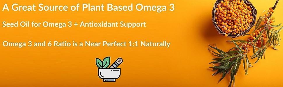 Omega 3, Fish Oil, Nordic Naturals, Sea Berry, Omega Fatty Acid, Organic, Non-GMO Project, Non-GMO