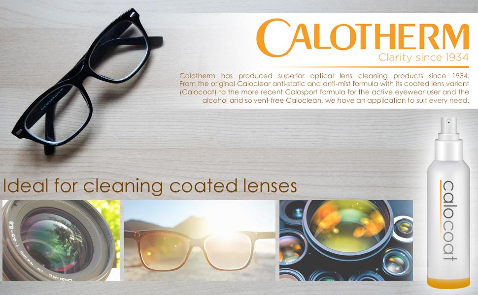 Calotherm Caloclear Reinigungsspray Für Optische Linsen Elektronik