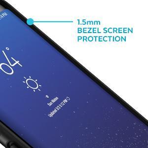 Bezel screen protection