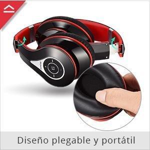 Mpow 059 Auriculares Bluetooth De Diadema Inal 225 Mbricos