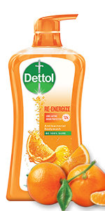 Dettol Body Wash, Reenergize