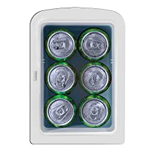 room makeup refrigerator power cool heater cold hot food beverage cans warmer eco cool gifts college