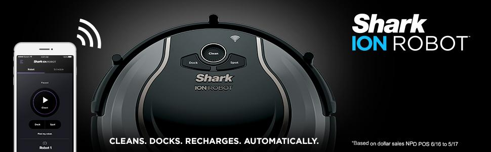 Amazon.com: Aspiradora SHARK Ion ROBOT 750 con conectividad ...