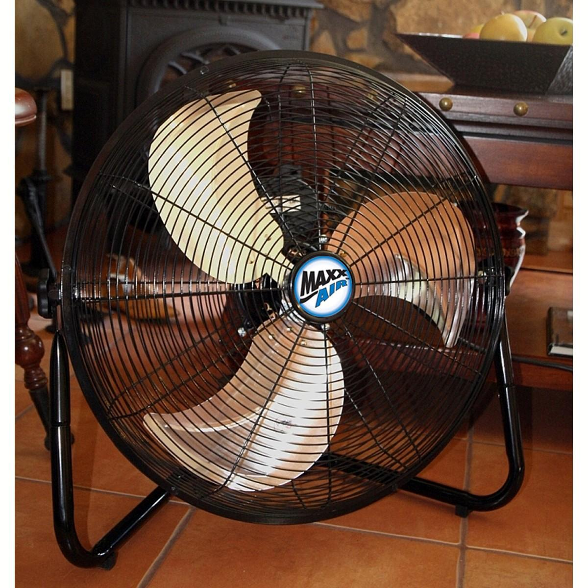 20 Inch Floor Fan : Amazon maxxair hvff ups high velocity inch