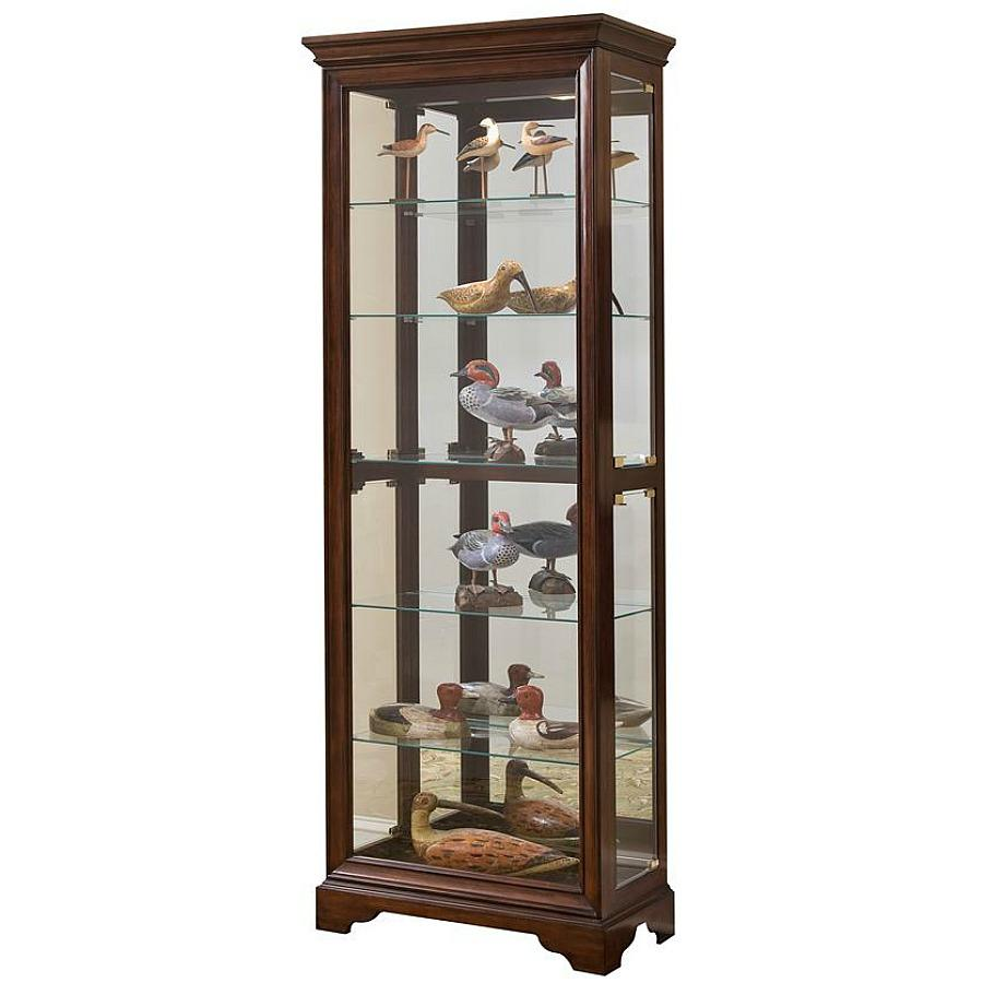 kitchen curio cabinet pulaski curio 29 by 15 by 80 inch brown 21629