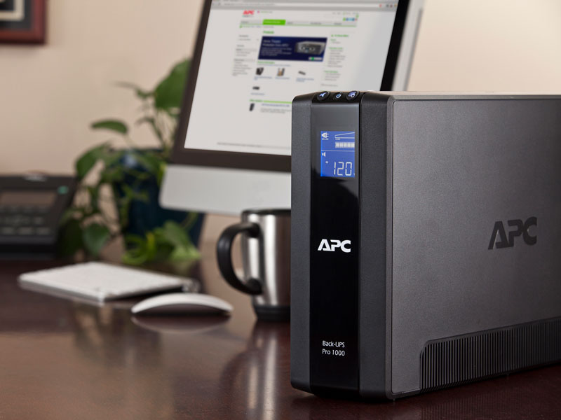 Amazon.com: APC Back-UPS Pro 1000VA UPS Battery Backup & Surge ... on