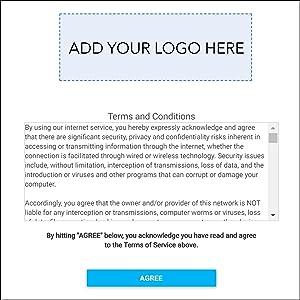 Customizable Guest Portal