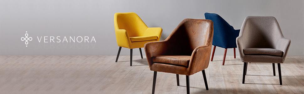 arm chair, living room chair, arm chairs, versanora, reception chair