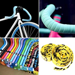 Nastro manubrio bici Cinelli cork ribbon tape bike usa flag jeans red splash