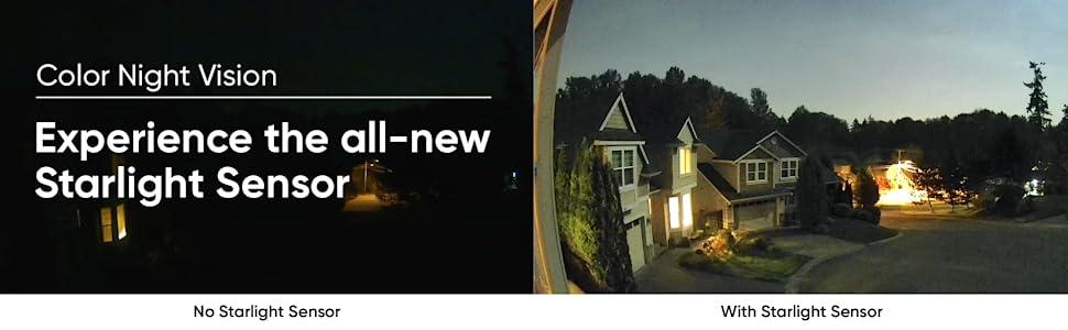 Visión nocturna en color con sensor Starlight