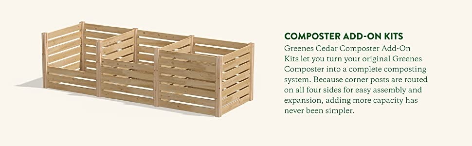 Composter Add-On Kits