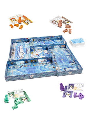 Fun as either a standalone game or an ICECOOL game board expansion.