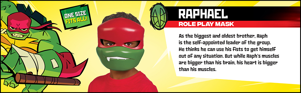 Amazon.com: Rise of the Teenage Mutant Ninja Turtles Raphael ...