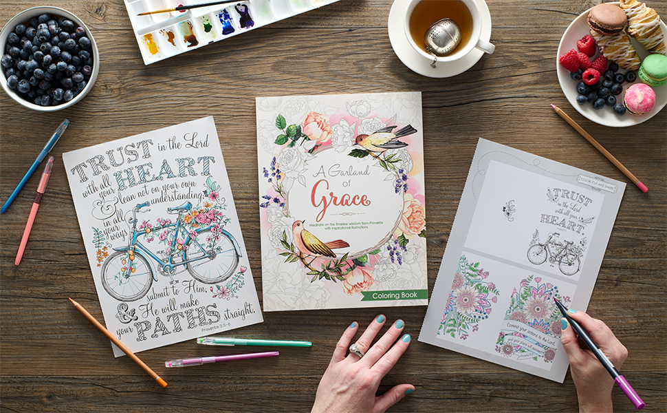 Christian Art Gifts Coloring Books for adults and teens