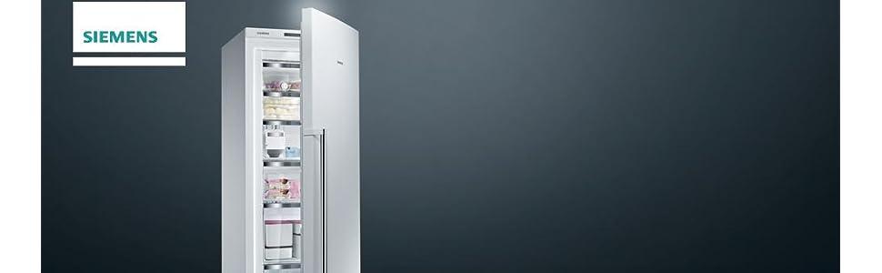 siemens iq500 gs58naw41 gefrierschrank a gefrierteil 360 l wei nofrost icetwister bigbox. Black Bedroom Furniture Sets. Home Design Ideas