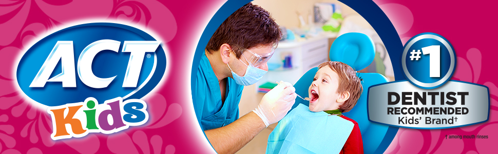 Oral care health products for kids and children.