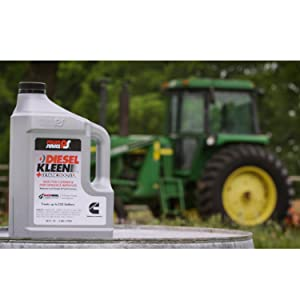 Diesel Kleen with Tractor