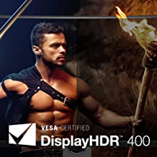Realistic Video Quality with Display HDR 400 (BenQ EX3203R)