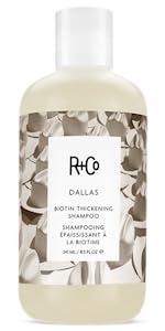 thickening shampoo; biotin