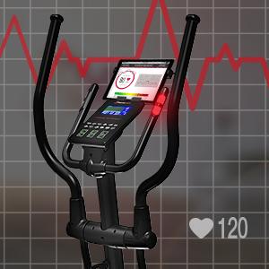 la medición de pulso integrada. frenado magnético ...