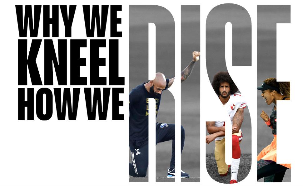 michael holding, #WhyWeKneel, #HowWeRise, #UnEditHistory, Naomi Osaka, Usain Bolt, Thierry Henry