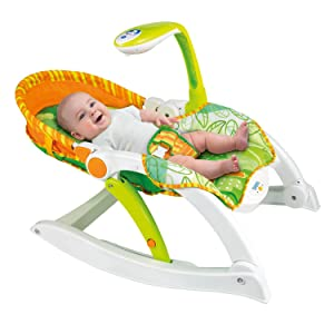 Amazon Com Winfun Grow With Me Rocking Chair Baby