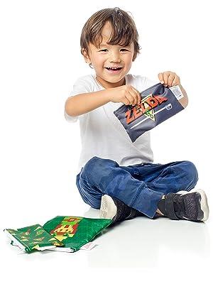nintendo reusable snack bags