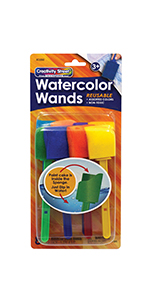 Creativity Street Watercolor Wands, 8 Assorted Colors
