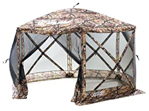 Clam Outdoors Quick-Set Escape Screen Shelter 140 X 140-Inch  sc 1 st  Amazon.com : picnic table screen tents - memphite.com