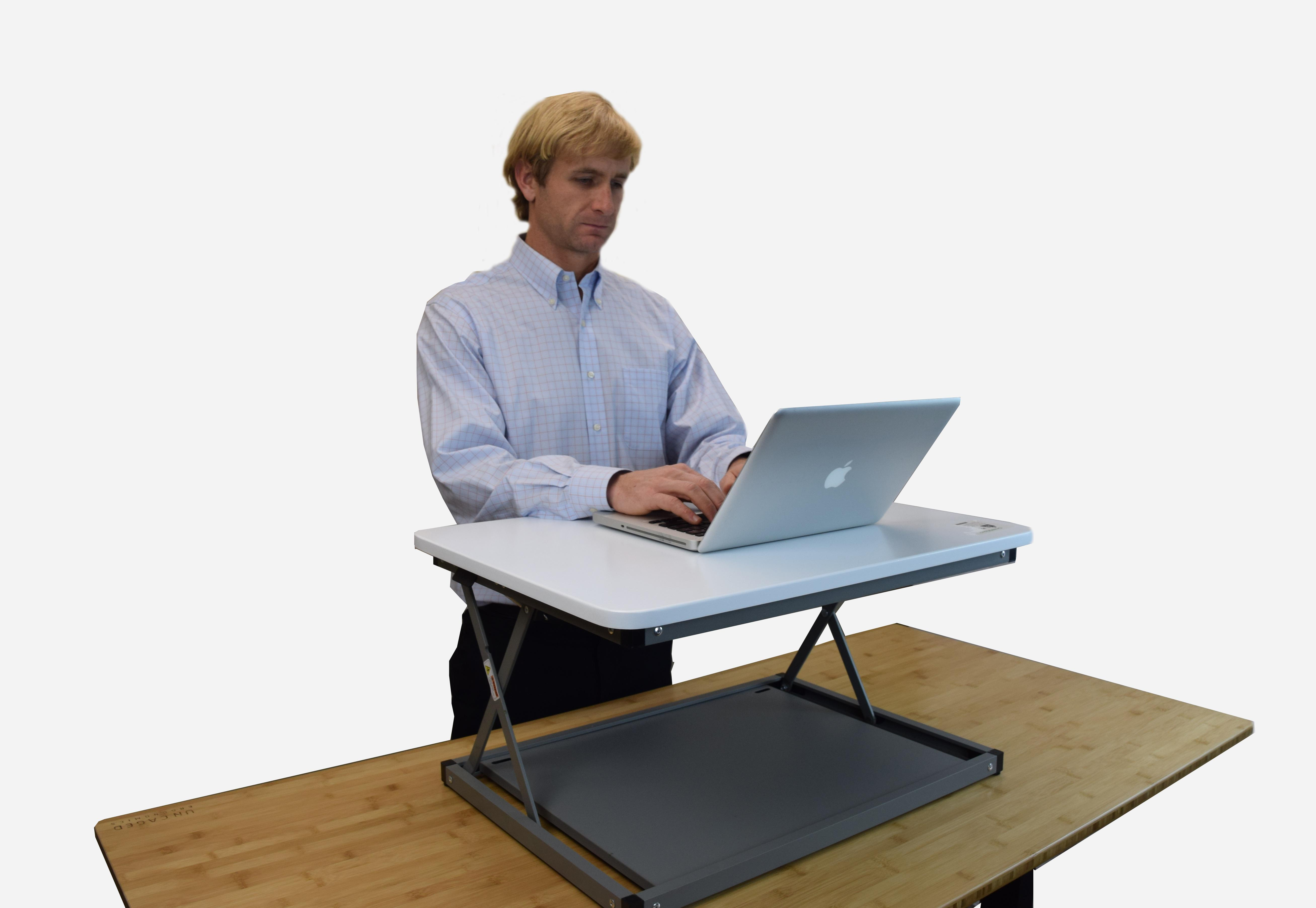 amazon com changedesk mini affordable adjustable height
